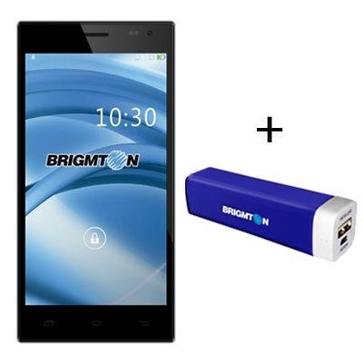 Brigmton Pack 550QC 5.5″ Negro + PowerBank 2000mAh