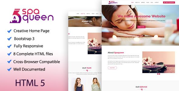 Spaqueen health beauty template template website and web spaqueen health beauty template template website and web design portfolios maxwellsz