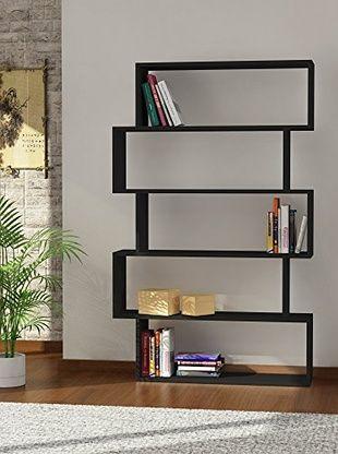 homemania b cherregal kat schwarz design pinterest. Black Bedroom Furniture Sets. Home Design Ideas