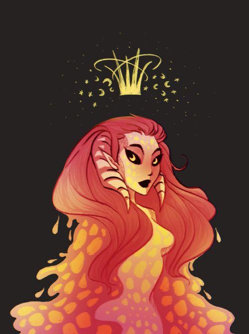 laskull: space queen uwu
