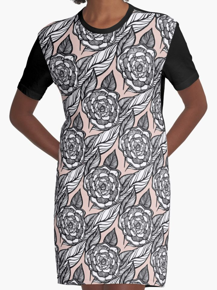 rose flowers pattern by kanvisstyle #redbubble