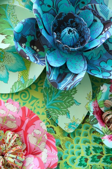 the talented amy butler love these patterns and colors together