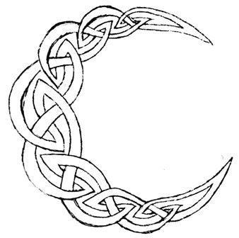 how to draw a celtic trinity knot