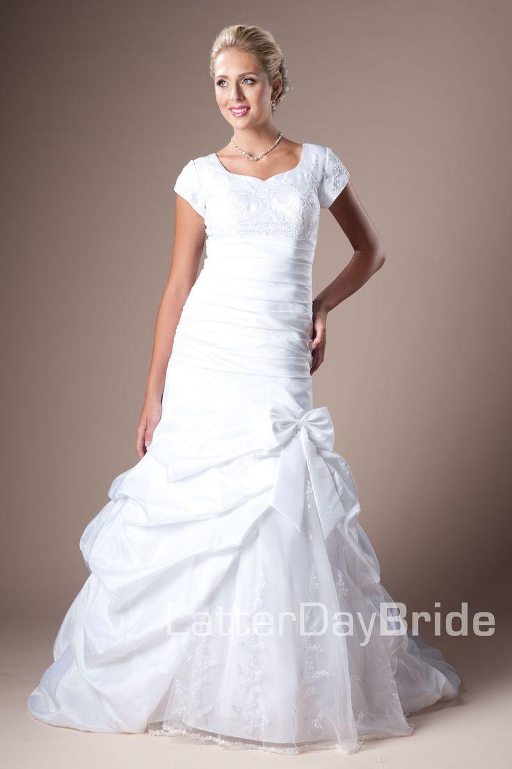39 best latter day bride images on pinterest for Latter day bride wedding dresses