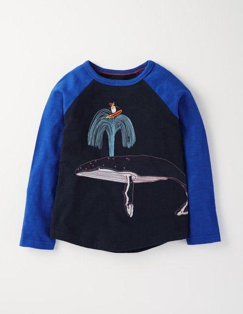 Antarctic Raglan T-shirt