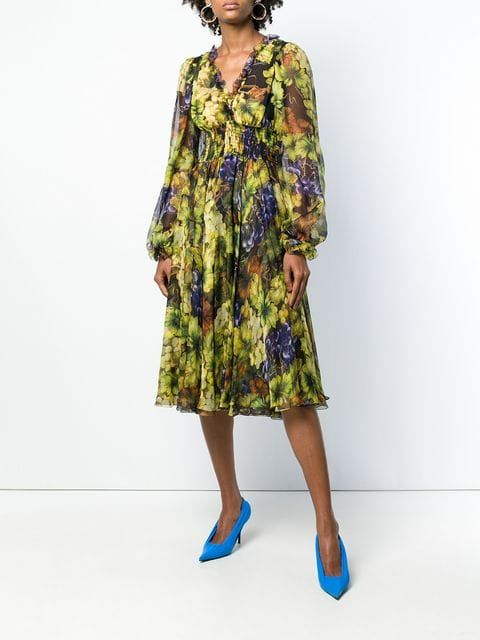speical offer half price hot products Dolce & Gabbana Empire Line Dress | Clothes in 2019 ...