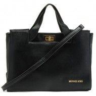 http://www.michaelkorsorder.com/ Michael Kors Handbags Toggle Lock Black,$128.99