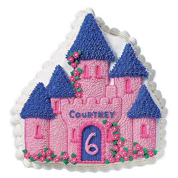 Enchanted Castle Cake - Use bright colored icings, prettily piped details and customized messages to transform an Enchanted Castle Cake into a bewitchingly personal birthday treat.