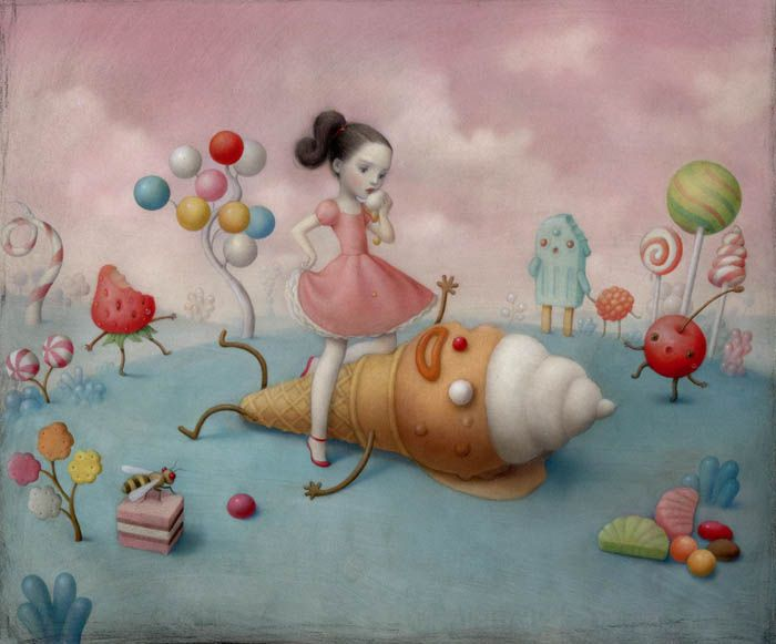 "AFA NYC | ""Sweet & Low"" by Nicoletta Ceccoli"