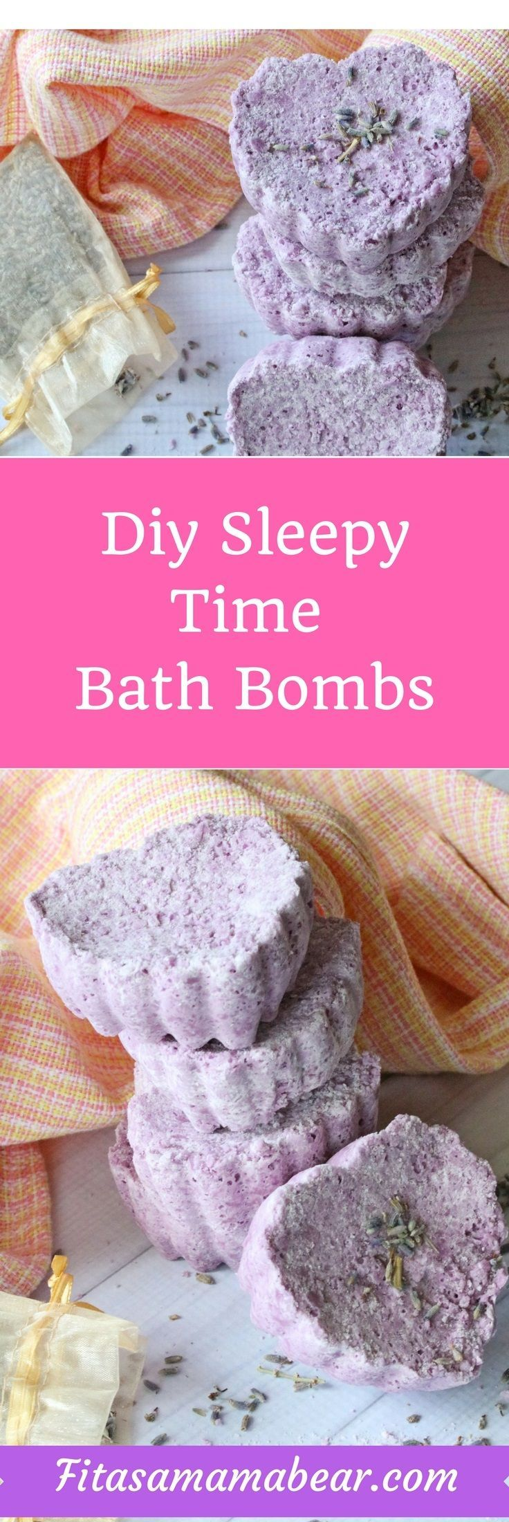 These diy, homemade bath bombs are perfect for relaxing before bed! /skin care & makeup tips / skin care/ makeup tips/chemical free skin care