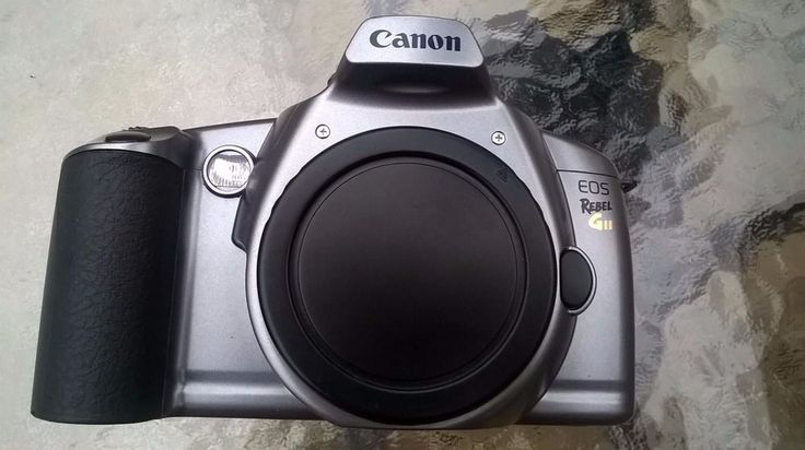 CANON EOS Rebel - Gii - 35mm Camera Body Only - Awesome Camera  #Canon
