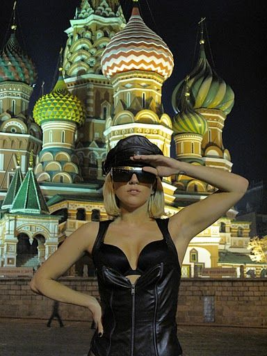 Lady gaga in russia