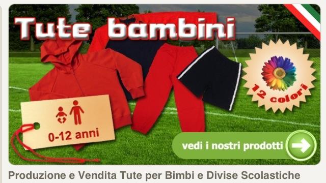 Produzione Tute in cotone e Divise Scolastiche per Bambini e Ragazzi www.coccobaby.com