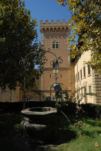Castello di Bolgheri, Toscane. www.tendi.nl/italie