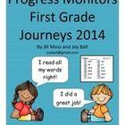 Journeys 2014 First Grade Progress Monitoring