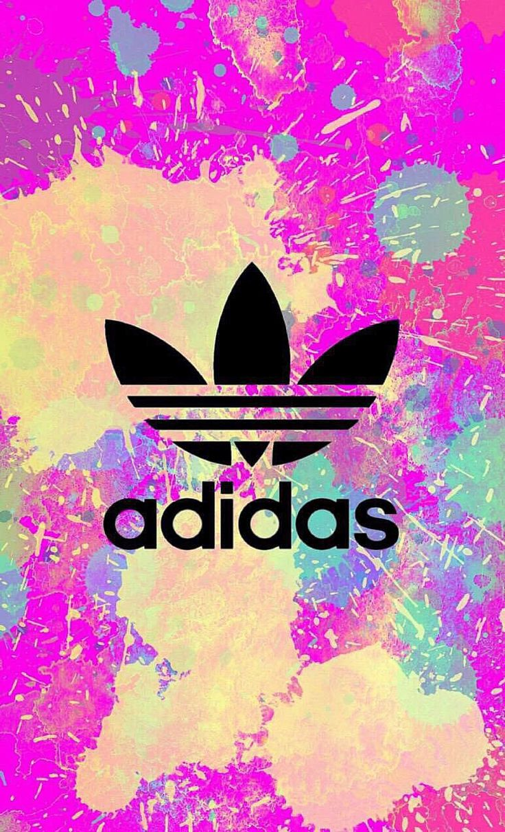 adidas fond d 39 ecran iphone wallpaper tendance logo fashion tache de peinture. Black Bedroom Furniture Sets. Home Design Ideas