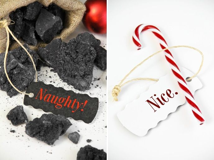 Christmas Coal Candy