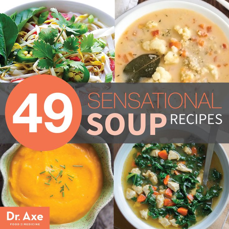 49 Sensational Soup Recipes to suit anyone's dietary needs. How comforting is that?! :)