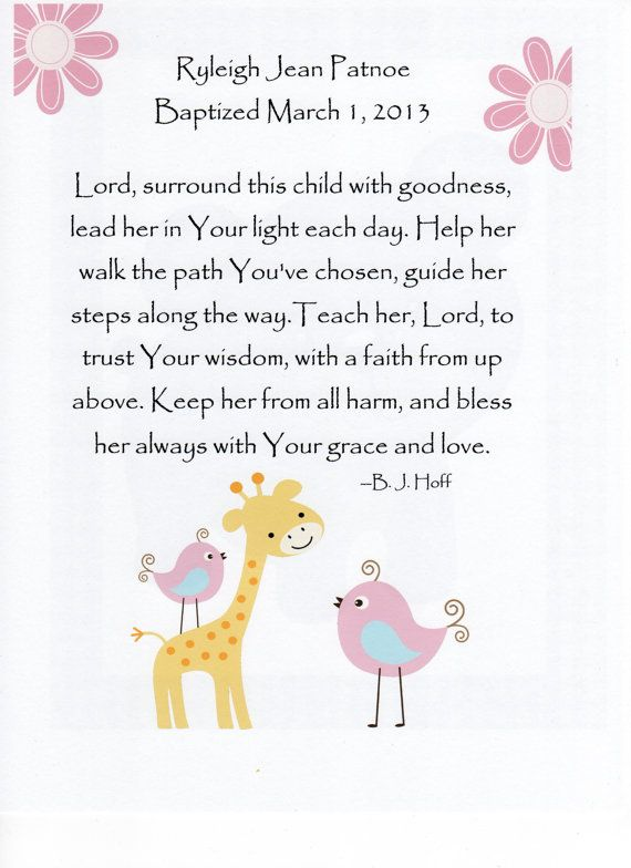 Cute Baby Baptism Quotes Quotesgram