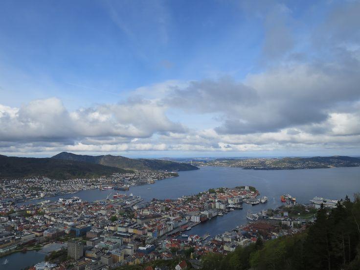 Mount Floyen @ Bergen