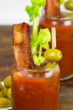 This Classic Bloody Mary Mix is quic  k and easy to make. Serve up a round of delicious Bloody Marys tomorrow morning!