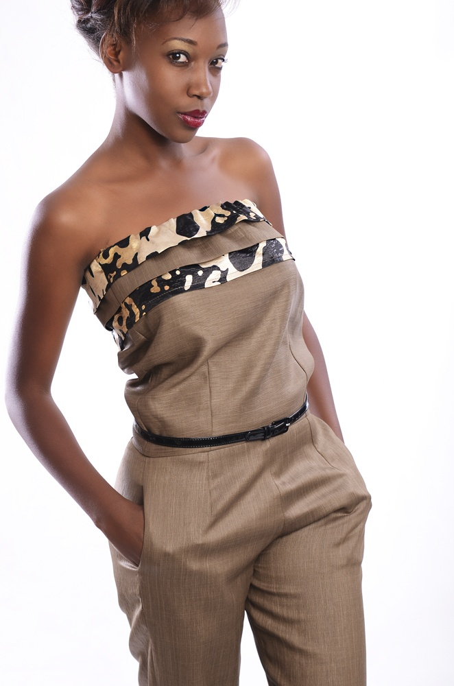 b6be703be67 Official Jumpsuit With Print Kitenge Detail