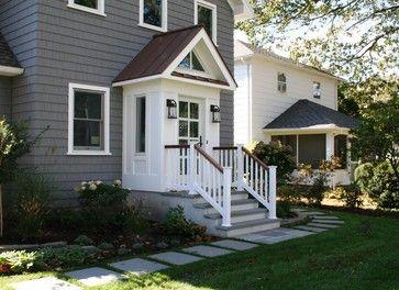 Slomin Residence Vestibule Addition - transitional - Exterior - New York - Richard Bubnowski Design LLC