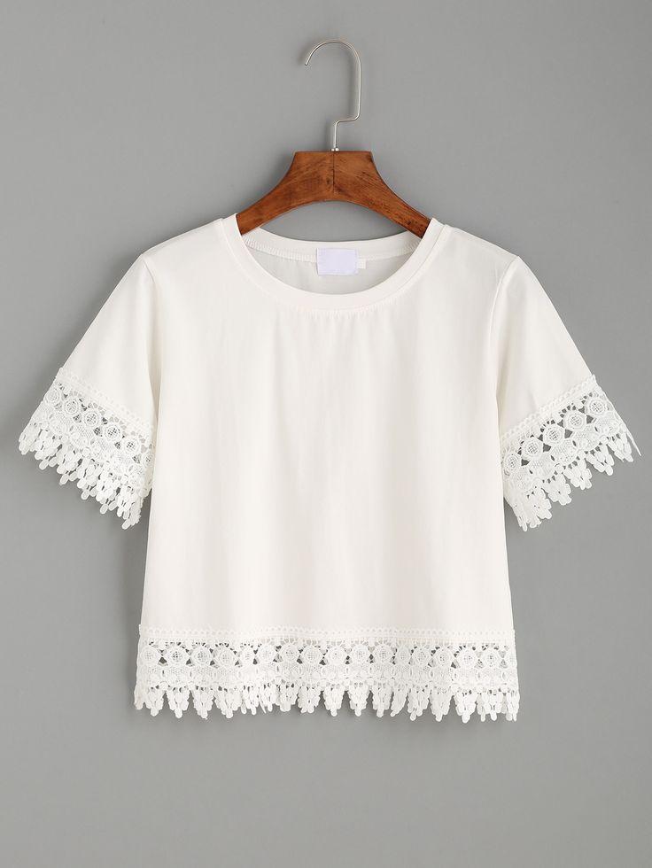 http://fr.shein.com/White-Crochet-Trim-Crop-T-shirt-p-298220-cat-1738.html