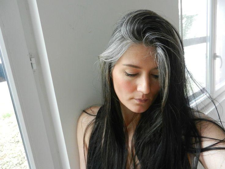 long grey hair                                                                                                                                                      More