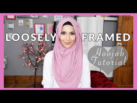 ▶ LOOSELY FRAMED HOOJAB TUTORIAL! | Amenakin - YouTube