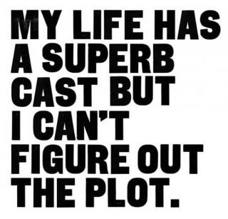 cant figure out the plot!Thoughts, Life Quotes, Superb Cast, My Life, Life Ha, Truths, Funny Quotes, So True, True Stories