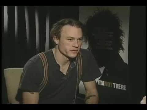 Last interview with Heath Ledger (the joker) https://www.youtube.com/watch?v=oHUmIMhjlKk #timBeta