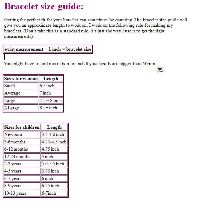 12 Best Images About Sizing Charts On Pinterest The High