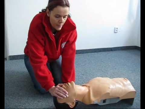 3. Resuscitace dospělého - Červený kříž