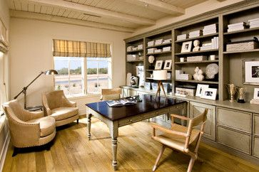 Pinnacle Peak Place - mediterranean - Home Office - Phoenix - Simpson Design Associates, LLC