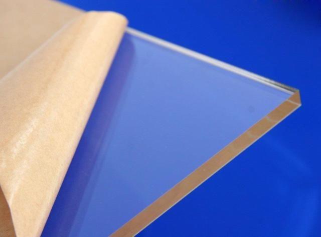"Clear Acrylic Plastic Plexiglass Sheet High Density 1/8"" X 24"" X 48"""