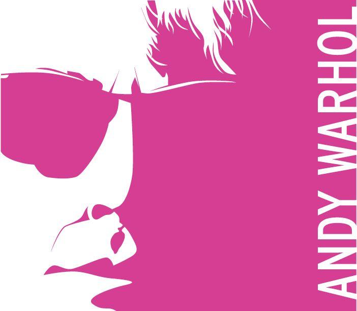 """Ilustración Digital. """"Andy Warhol"""" Encargo hecho por diario """"La Tercera"""""""