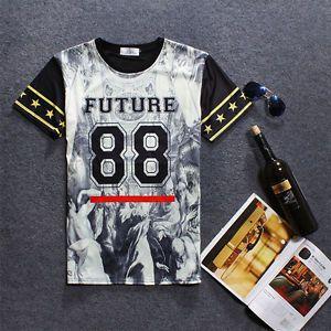 Hip-Hop-Mens-Womens-t-shirt-3D-Print-Summer-Clothing-Funny-Top-Tee-T-Shirts-E588