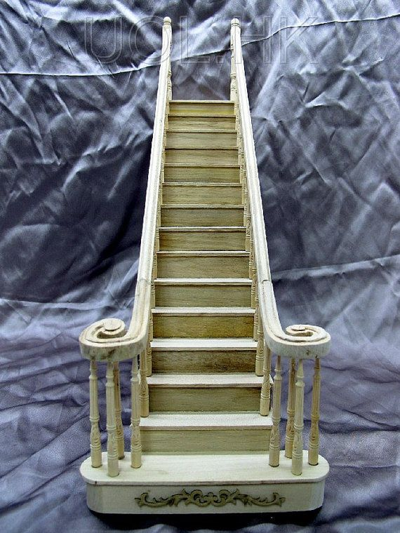 133 Best Mini Stairs Images On Pinterest Dollhouses