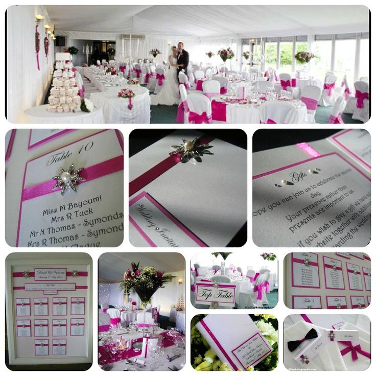 Pink wedding - Real White Crafts Brides