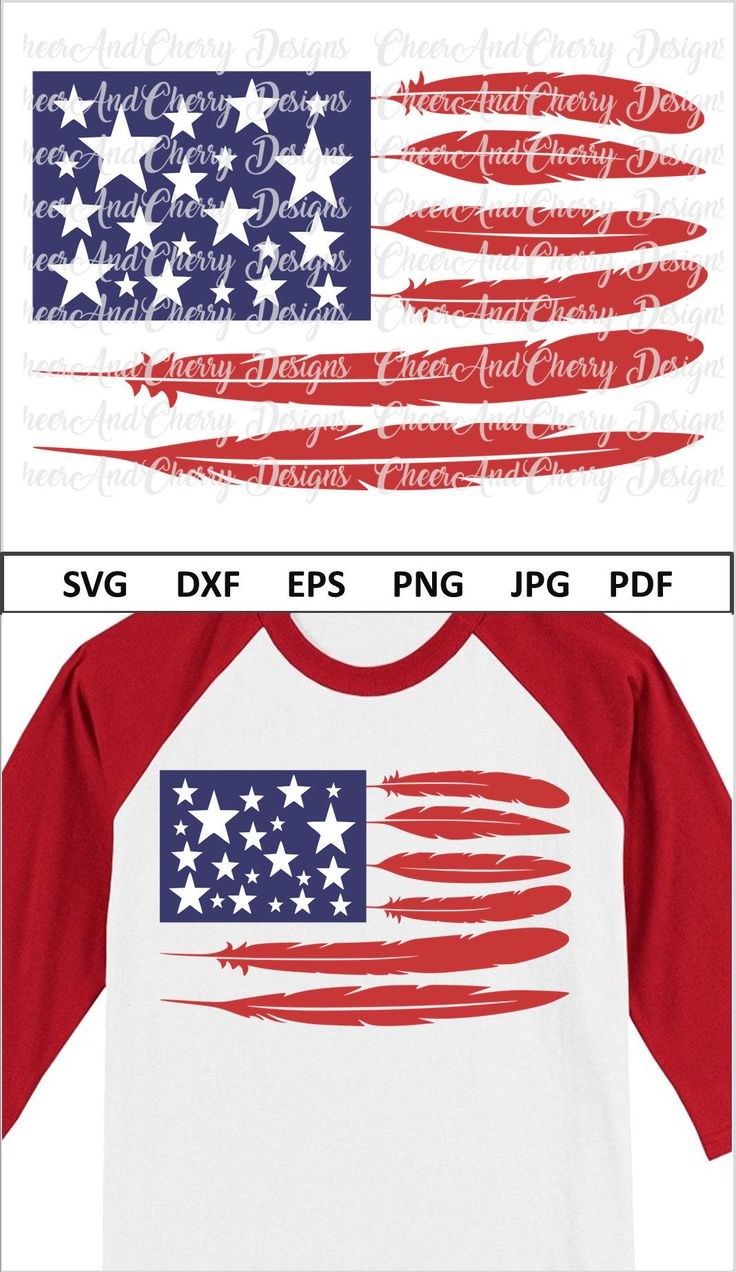 Tribal American Flag SVG Dxf Png Jpeg July 4th Svg for Silhouette Cricut Iron On USA flag Svg America SVG for 4th of July Svg Patriotic Svg