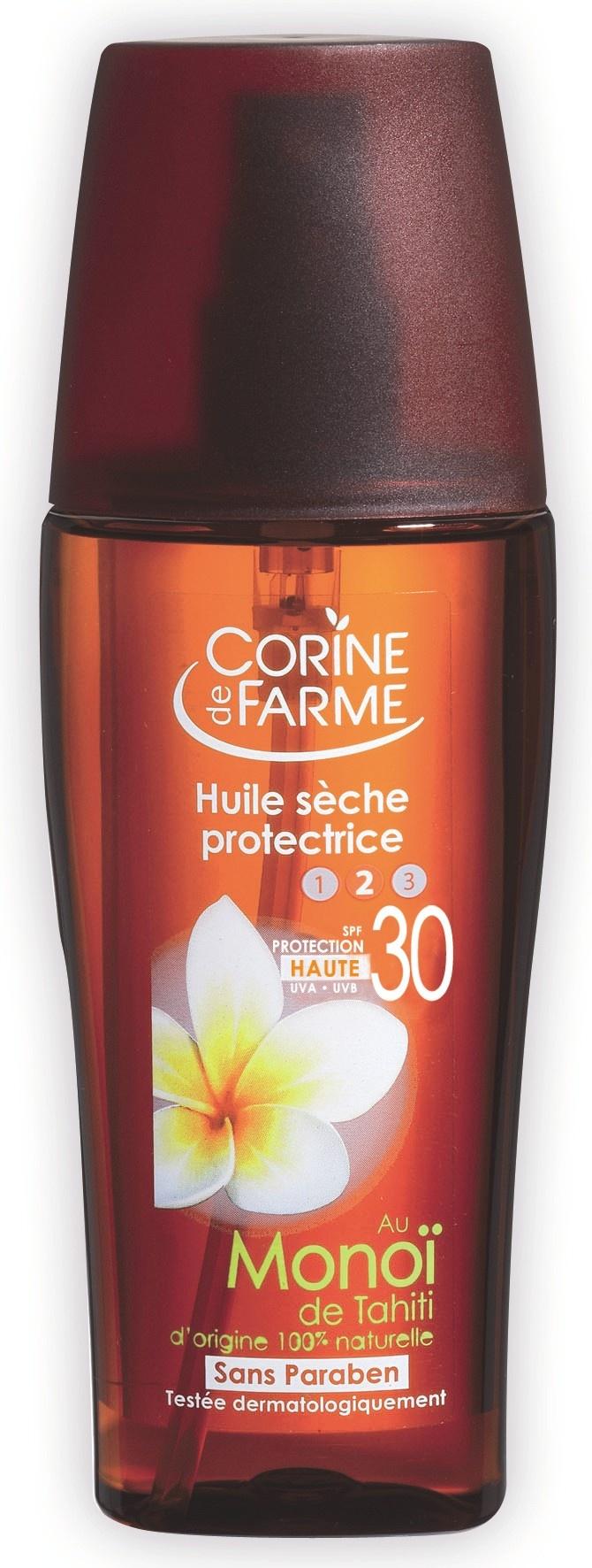 Beschermende droge olie SPF 30 - Corine de Farme