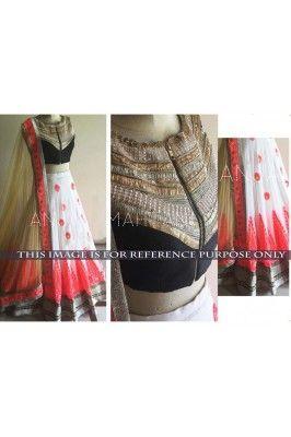 White and Pink Bridal Designer Lehenga #designerlehenga #lehengacholiset #bridallehenga #lehengacholiset #designerlehenga Shop now- https://trendybharat.com/white-and-pink-bridal-designer-lehenga-tbl101-kt2007?search=designer%20lehenga&page=3