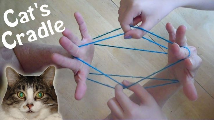 Cats Cradle 101, Easy Step by step with video!