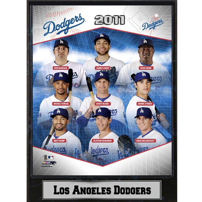 Encore Select 2011 Los Angeles Dodgers Stats Plaque