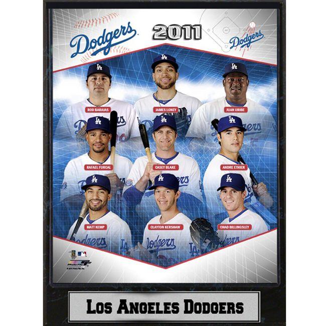 Encore Select 2011 Los Angeles Dodgers Stats Plaque