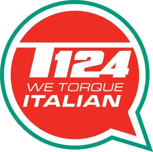 T124 Bumper Sticker - Round