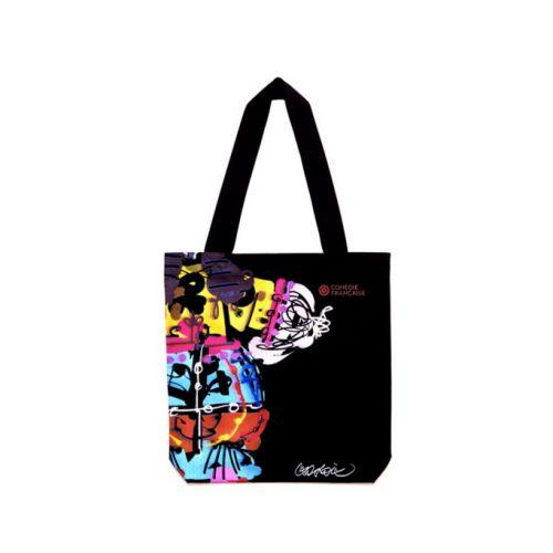 Le #tote #bag #noir tendance inspiré des #costumes de Monsieur Christian #Lacroix ! Prix 29 euros TTC #theatre #ComedieFrançaise