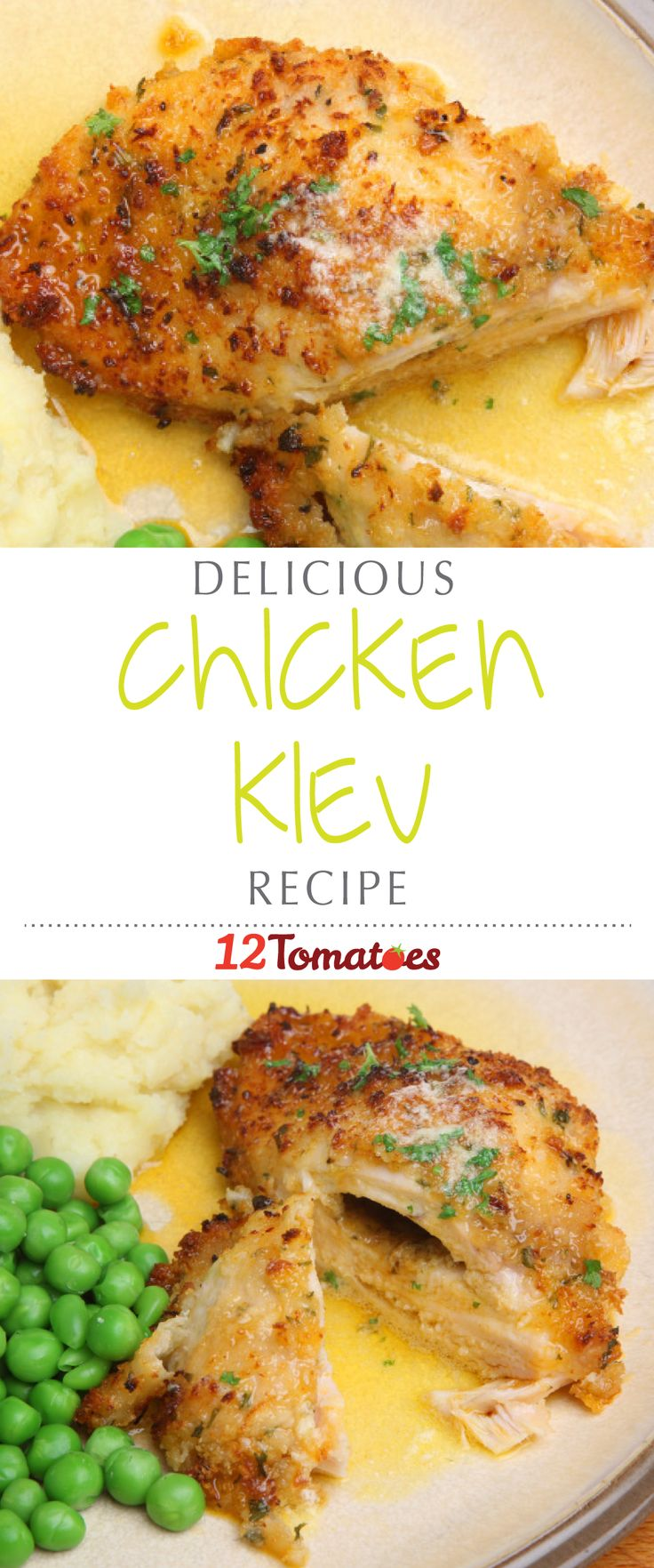 Chicken Kiev   This chicken is deliciously juicy and steals the show every time I make it!