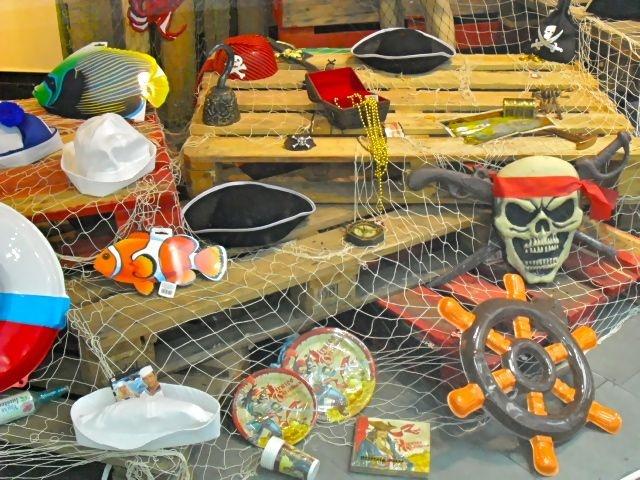 Decoraciónes de fiesta de los pirata - Imagui